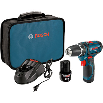 Factory Reconditioned Bosch PS31-2A-RT 12V Max Lithium-Ion 3/8 in. Cordless Drill Driver Kit (2 Ah)