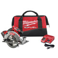Factory Reconditioned Milwaukee 2731-81 M18 FUEL 18V Cordless Lithium-Ion 7-1/4 in. Circular Saw Kit