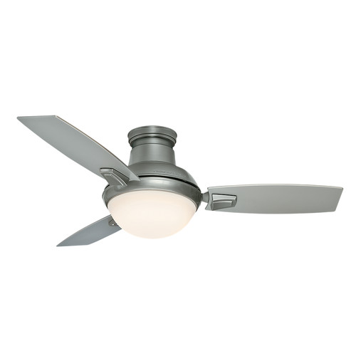Casablanca 59155 44 in. Verse Satin Nickel Ceiling Fan with Light and Remote image number 2