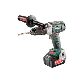 Metabo 602352520 18V LTX SB 18 BL I Lithium-Ion Brushless 1/2 in. Cordless Hammer Drill kit (5.2 Ah) image number 1