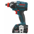 Factory Reconditioned Bosch IDH182-02-RT 18V Cordless Lithium-Ion Brushless Socket Ready Impact Driver Kit with Soft Case image number 9
