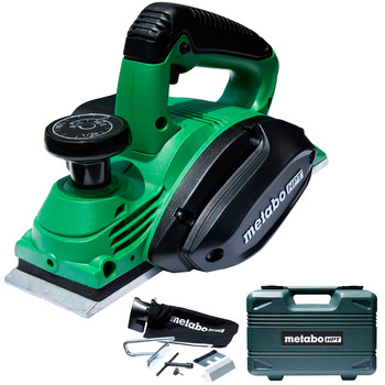 Metabo HPT P20STQSM 5.5 Amp Single-Phase 3-1/4 in. Corded Hand Held Planer