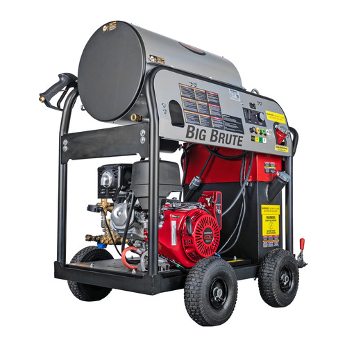 Simpson 65106 Big Brute 4000 PSI 4.0 GPM Hot Water Pressure Washer Powered by HONDA image number 0