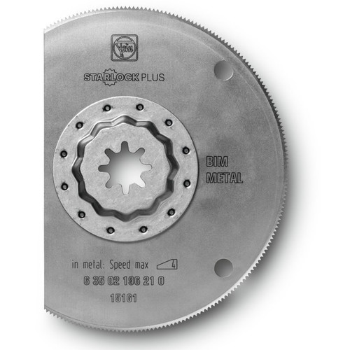 Fein 63502196230 4 in. Segmented High-Speed Steel Circular Oscillating Saw Blade (5-Pack)