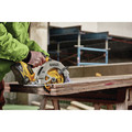 Dewalt DCS574W1 20V MAX XR Brushless Lithium-Ion 7-1/4 in. Cordless Circular Saw with POWER DETECT Tool Technology Kit (8 Ah) image number 7
