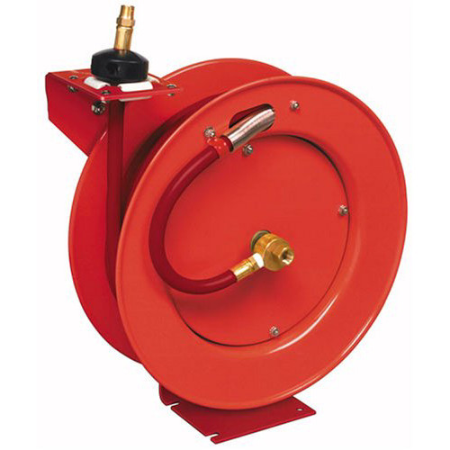 Lincoln Industrial 83754 1/2 in. x 50 ft. Retractable Air Hose Reel