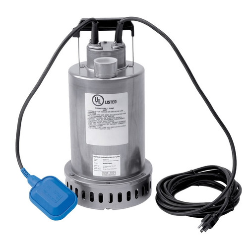 Honda WSP73 12.2 Amp 1.5 FNPT 74 GPM Submersible Pump