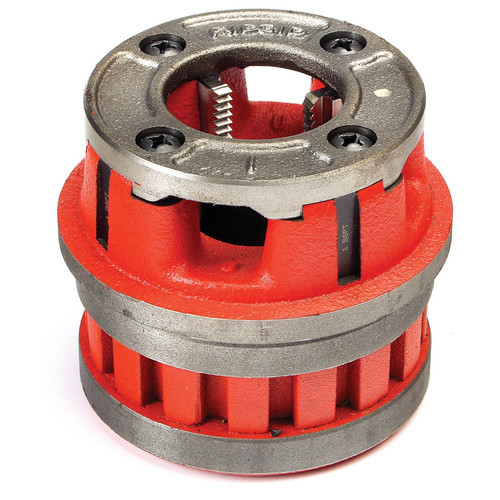 Ridgid 12-R 1-1/4 in. Capacity NPT Alloy RH Hand Threader Die Head