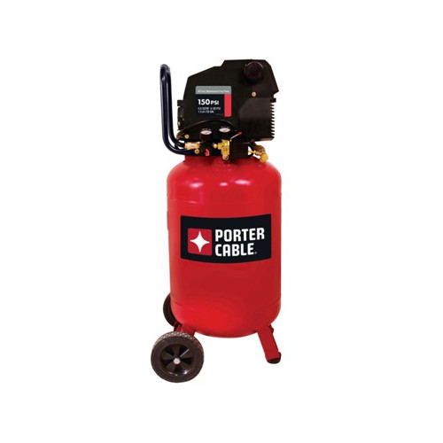 Porter-Cable PXCMF220VW | 1.5 HP 20 Gallon Oil-Free Vertical Portable Air Compressor | Tyler Tool