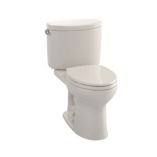 TOTO CST454CEFG#12 Drake II Elongated 2-Piece Floor Mount Toilet (Sedona Beige)