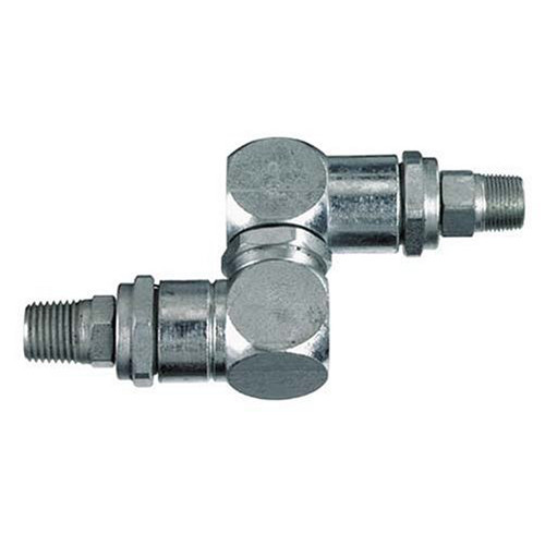 Lincoln Industrial 81387 1/2 in. - 27 x 1/4 in. NPT Universal High Pressure Swivel