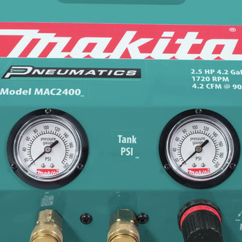 Factory Reconditioned Makita MAC2400-R 2.5 HP 4.2 Gallon Oil-Lube Air Compressor image number 14