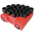 Sunex 4684 17-Piece 3/4 in. Drive Metric Heavy-Duty Impact Socket Set image number 0