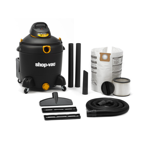 Shop-Vac 5983400 20 Gallon 6.5 Peak HP Quiet Deluxe Wet/Dry Vacuum