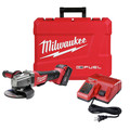 Milwaukee 2781-21 M18 FUEL 18V Cordless 4-1/2 in. - 5 in. Slide Switch Grinder with Lock-On and REDLITHIUM Battery