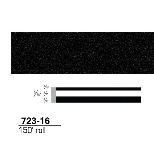 3M 72316 Scotchcal Striping Tape, Black Stardust, 5/16 in. x 150 ft.