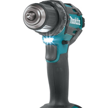 Makita XFD10R 18V LXT Lithium-Ion Compact 1/2 in. Cordless Drill Driver Kit (2 Ah) image number 7