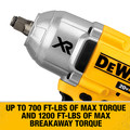 Dewalt DCF899HB 20V MAX XR Cordless Lithium-Ion 1/2 in. Brushless Friction Ring Impact Wrench (Tool Only) image number 3