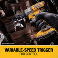 Dewalt DCF902F2 XTREME 12V MAX Brushless Lithium-Ion 3/8 in. Cordless Impact Wrench Kit (2 Ah) image number 10