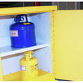 JOBOX 1-850990 12 Gallon Heavy-Duty Safety Cabinet (Yellow) image number 5