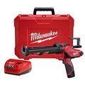 Factory Reconditioned Milwaukee 2441-81 M12 12V Cordless Lithium-Ion 10 oz. Caulk and Adhesive Gun Kit