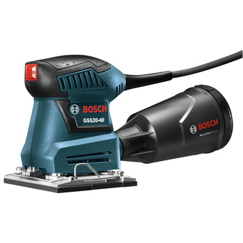 Factory Reconditioned Bosch GSS20-40-RT 2.0 Amp 1/4-Sheet Orbital Finishing Sander