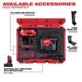 Milwaukee 3632-21 M12 360-Degree 3-Plane Cordless Laser Kit - Green (4 Ah) image number 7