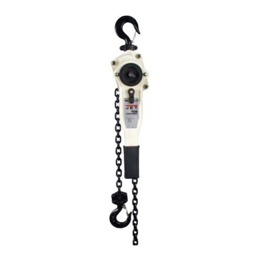 JET 187768 1.5 Ton Lever Hoist with 15 ft. Lift and Ship Yard Hooks image number 0