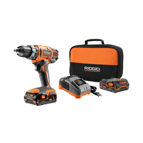 Factory Reconditioned Ridgid ZRR860052K 18V Cordless Lithium-Ion 1/2 in. Compact Drill Driver