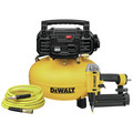 Dewalt DWFP1KIT 18 Gauge Brad Nailer and 6 Gallon Oil-Free Pancake Air Compressor Combo Kit image number 0