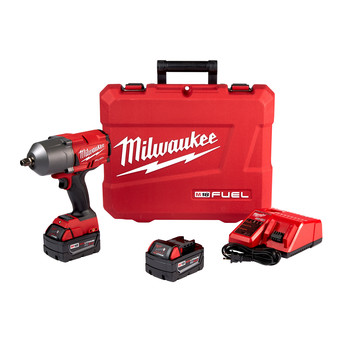 Milwaukee 2767-22 M18 FUEL High Torque 1/2 in. Impact Wrench Kit with Friction Ring