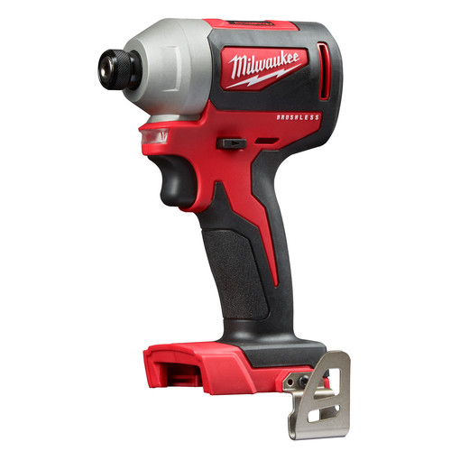 Factory Reconditioned Milwaukee 2850-80 M18 Compact Brushless 1/4 in. Hex Impact Driver (Tool Only) image number 0
