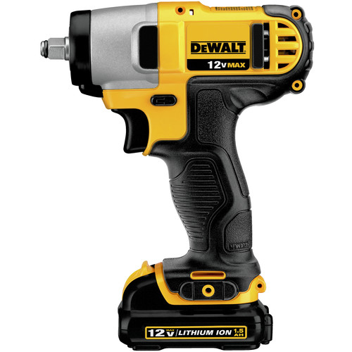 Dewalt DCF813S2 12V MAX Cordless Lithium-Ion 3/8 in. Impact Wrench Kit image number 0