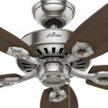 Hunter 53241 52 in. Builder Elite ENERGY STAR Brushed Nickel Ceiling Fan image number 5
