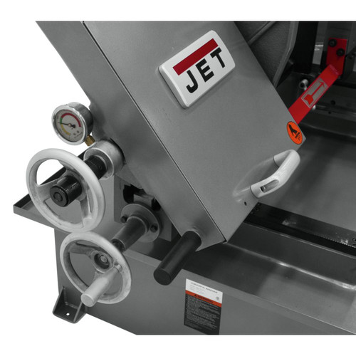 JET 413410 230V 10 in. x 18 in. Horizontal Dual Mitering Bandsaw image number 6