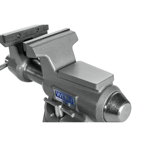 Wilton 28811 855M Mechanics Pro Vise with 5-1/2 in. Jaw Width, 5 in. Jaw Opening and 360-degrees Swivel Base image number 4