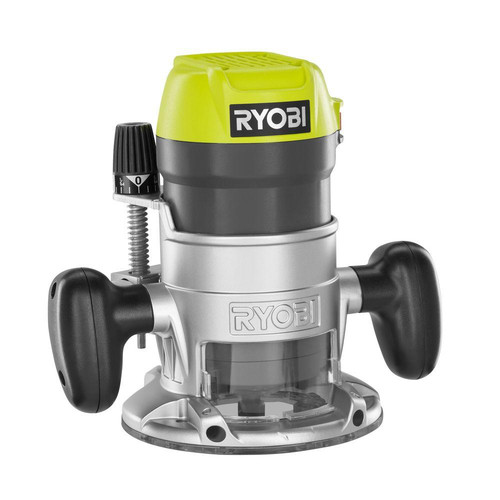 Factory Reconditioned Ryobi ZRR163GK 8.5 Amp 1-1/2 HP Fixed Base Router (Green)