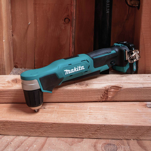 Makita AD04R1 12V max CXT Lithium-Ion 3/8 in. Cordless Right Angle Drill Kit (2 Ah) image number 8