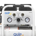 Quipall 2-1-SIL 1 HP 1.6 Gallon Oil-Free Hotdog Air Compressor image number 8