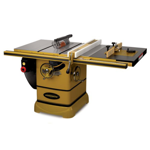Powermatic PM2000 3 HP 10 in. Single Phase Left Tilt Table Saw with 30 in. Accu-FenceRout-R-Lift and Riving Knife