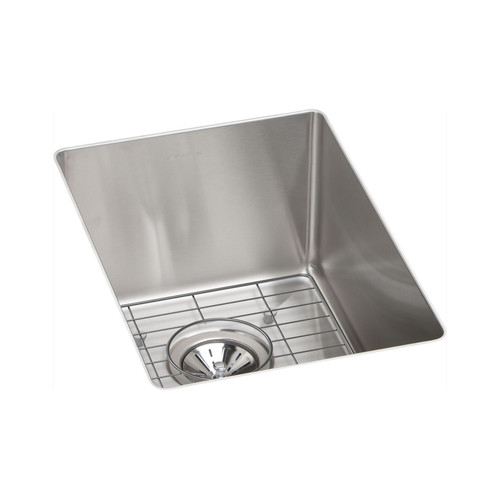 Elkay ECTRU12179DBG Crosstown Undermount 13-1/2 in. x 18-1/2 in. Single Basin Kitchen Sink (Steel)