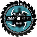 Makita B-61656 7-1/4 in. 24T Carbide-Tipped Max Efficiency Framing Circular Saw Blade