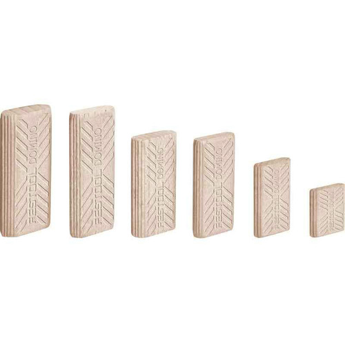 Festool 494939 6mm x 20mm x 40mm Domino Beech Tenons (190-Pack)
