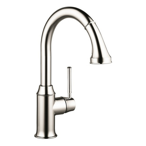 Hansgrohe 04215830 Talis Kitchen Faucet (Polished Nickel)