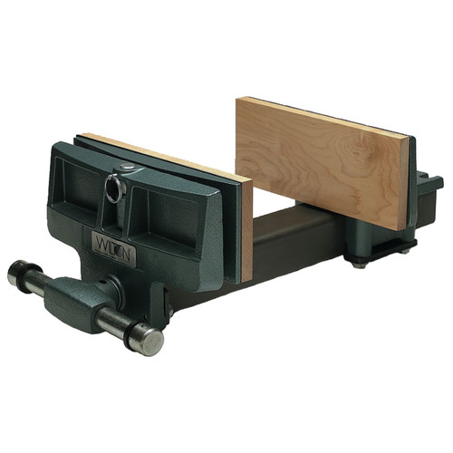 Wilton 63218 79A, Pivot Jaw Woodworkers Vise - Rapid Acting, 4 in. x 10 in. Jaw Width