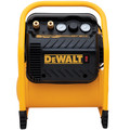 Dewalt DWFP55130 2.5 Gallon 200 PSI Oil-Free Quiet Trim Heavy-Duty Compressor