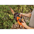 Black & Decker LHT341FF 40V MAX Cordless Lithium-Ion 24 in. POWERCUT Hedge Trimmer Kit image number 1