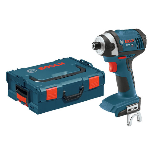 Bosch IDS181BL 18V Lithium-Ion Compact Tough 1/4 in. Hex Impact Driver (Bare Tool) with L-Boxx-2
