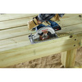 Bosch CCS180-B15 18V 6-1/2 in. Circular Saw Kit with (1) CORE18V 4.0 Ah Lithium-Ion Compact Battery image number 8