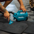 Makita XLC07SY1 18V LXT Compact Lithium-Ion Cordless Handheld Canister Vacuum Kit (1.5 Ah) image number 12